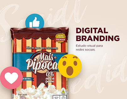 Mais Pipoca - Social Media & Digital Branding