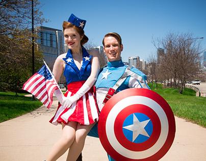 Captain America & Cadet