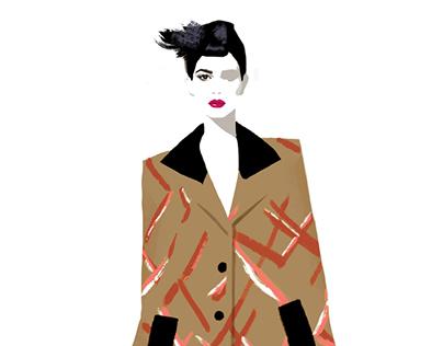 Fashion Illustration Portfolio 2015