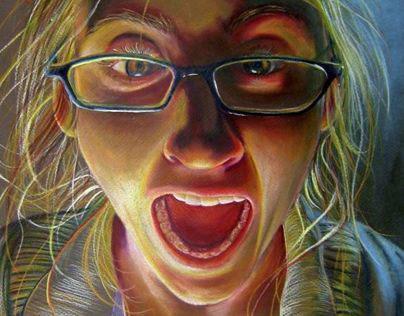 Colorpencil Portraits
