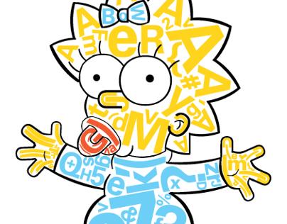 The Simpsons Alphabet Book