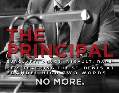 The Principal | Movie Poster Design