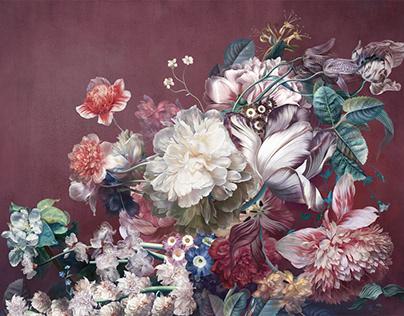 Цветы, Н=280 см