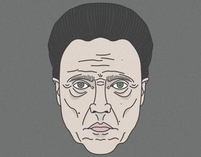 Line Art with Christopher Walken