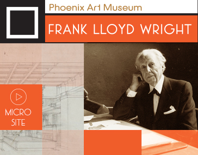 Frank Lloyd Wright | Microsite