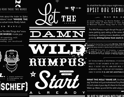 Let The Wild Rumpus Start