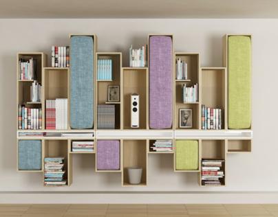 Ex.mark | bookshelf [modular system]