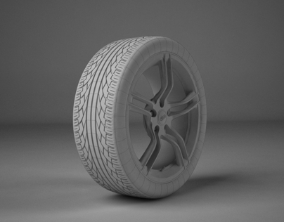 CG Work | 3D Model AUDI R8 (Preview)