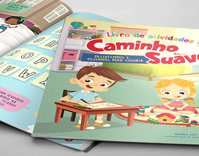 """Caminho Suave"" - Illustration and design"