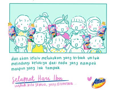 Attack Detergent x byputy - Digital Campaign