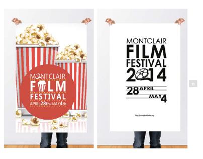 Montclair Film Festival Contest Posters
