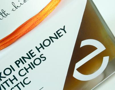 Premium Raw Honey With Mastic