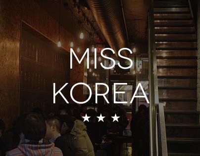 Miss Korea Toronto web design