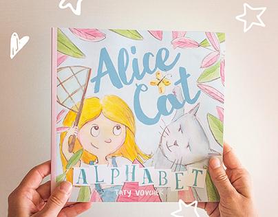 """Children's book """"Alice Cat Alphabet"""""""
