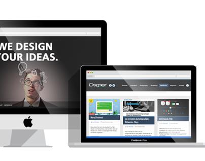 Flat MacBook Pro and iMac Mockup - Freebie