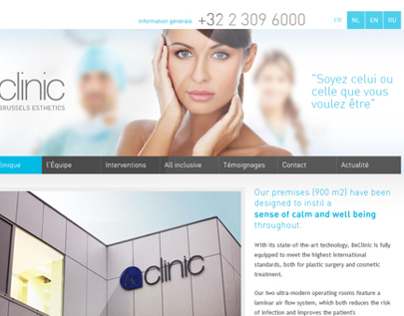 Illustrations - Beclinic Plastic Surgery Clinic Website