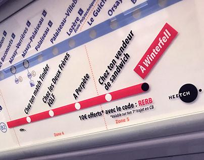 Heetch - Paris Metro Hacking