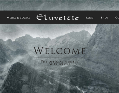 Redesign Eluveitie's website