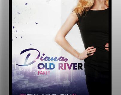Old River Flyer Template