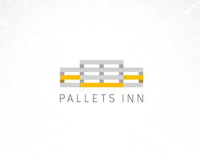 Pallets Inn logo concepts