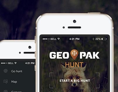 Topographic app Geo Pak
