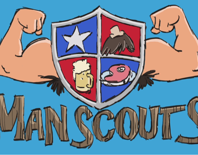 """Man Scouts"" by Jason Keith Ramsey"