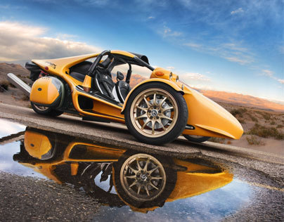 High End Retouching - Sport Car