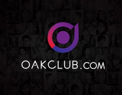 OakClub Dating App Design Concept (2014)