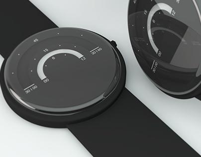 Kaari, analogue watch