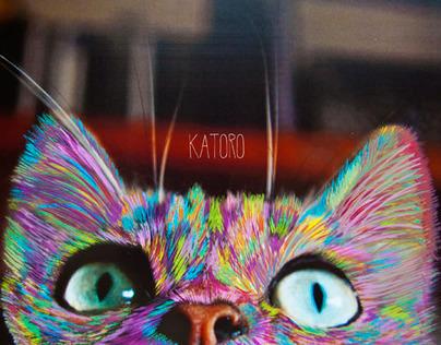 Katoro · Paint on photography