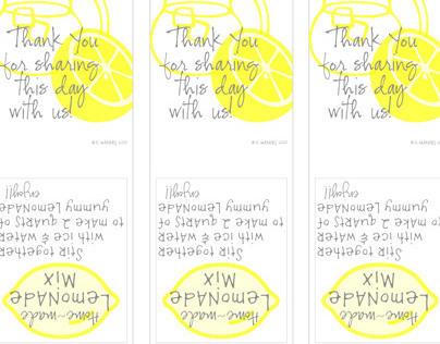 Sorensen Wedding Favor Packaging & Placecards 2010