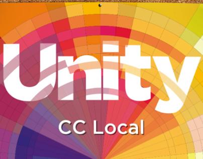 Unity/CC Local 2014 poster and calendar design