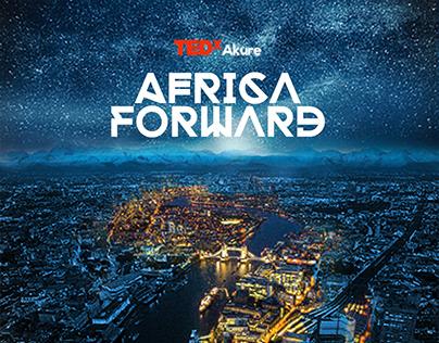Poster design for TEDx Akure 2017