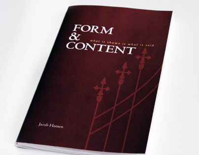 Form & Content: What is Shown is What is Said