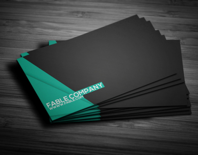 Clean Corporate Business Card Design vol.2