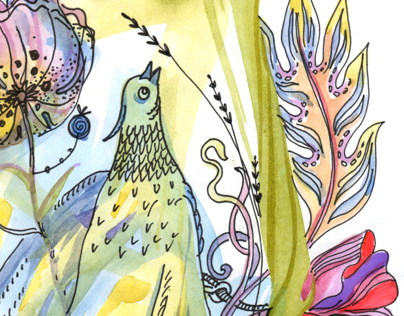 Spring bird songs