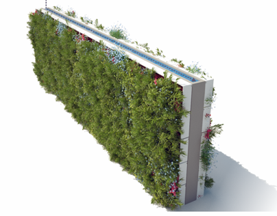 Vertical Garden concept design on Behance