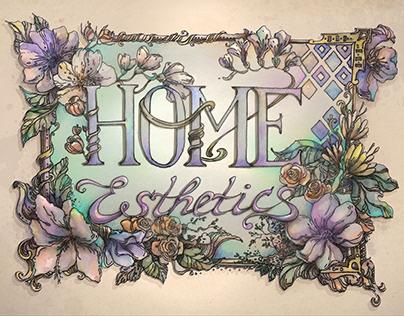 Home Esthetics Page Concept Design