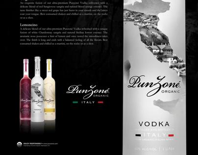 Punzone Vodka - Marketing