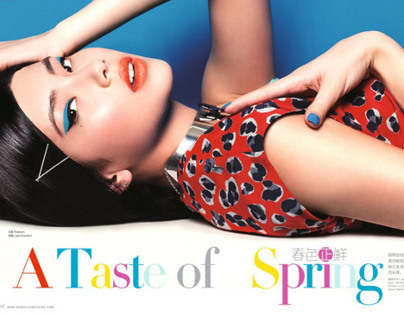 A Taste of Spring for Marie Claire China