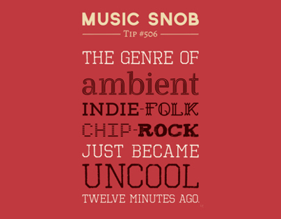 Hybrid Genres to Avoid — Music Snob Tip #506