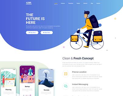 Azor - App Landing HTML Template