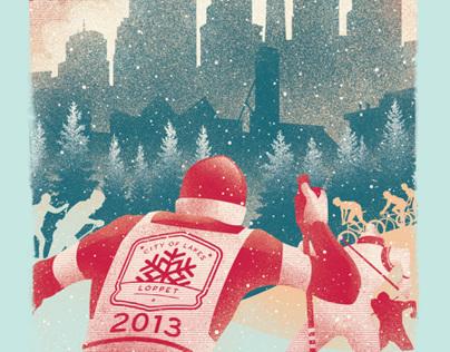 Loppet Ski Festival Posters