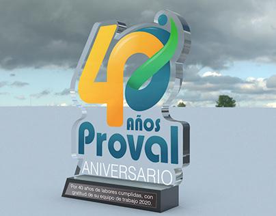 Placa Proval