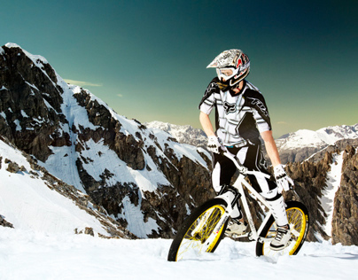 Photo Shooting for MTB rider