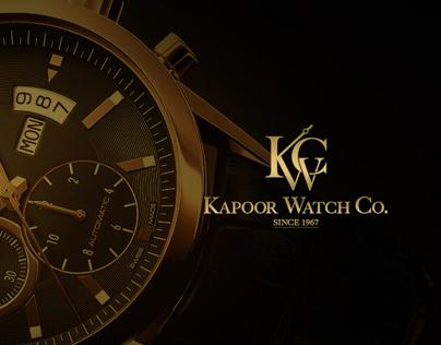 Luxury Watches - Web UI Design