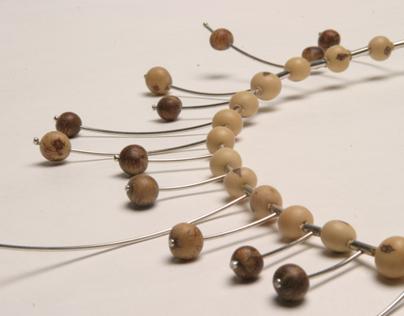 Seed and Fiber Jewellery