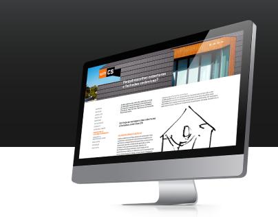 CS roof tiles | website