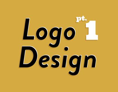 Logo Design Pt.1