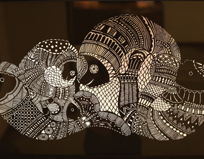 Project 2023 - Paper Cut Madhubani